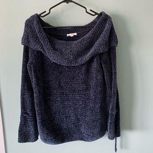 LC Lauren Conrad sweater with tie sleeves